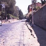 Part of the original surface-Appian Way