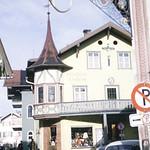 Bavarian architecture Pension-Oberammergau