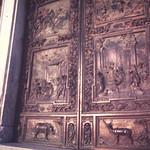 Bronze doora of the cathedral-Pisa
