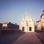 Chapel on the Arno-Pisa, Italy