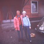 The Great Skier & Herbert, her instructor