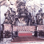 CItta' Del Vaticano-Basilica S. Pietro-La Cattedra di Bronzo del Bernini