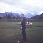 The Great Golfer on the Amer. course at Garmisch