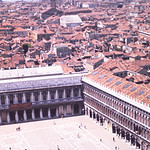 View of the square from the Campanile-Venice