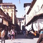 Shops on the Ponte Vecchio-Floreneaw