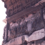 Carving an interior of Arch of Titus