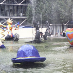 Pompidou Center-amusing fountains